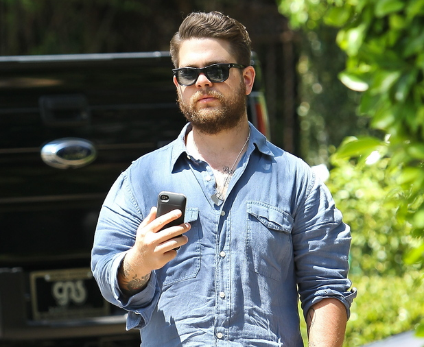 Jack Osbourne is photographed outside a friends house in Beverly Hills, Los Angeles, California - 16.08.12