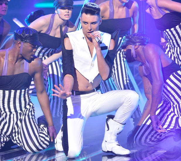 Rylan Clark dance week X Factor