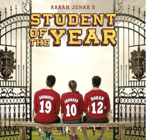 'Student Of The Year' poster
