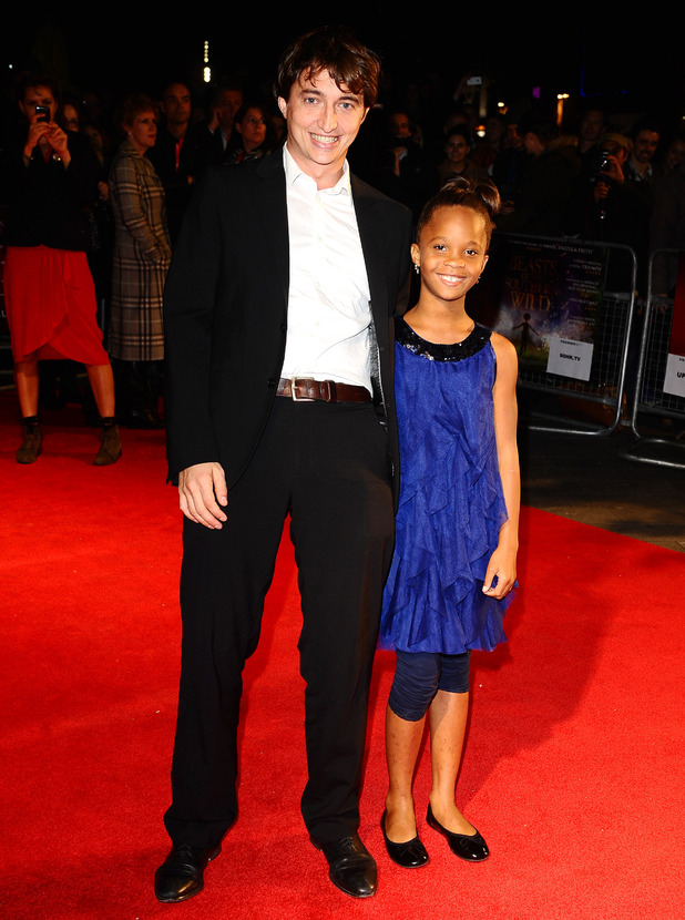 Director Benh Zeitlin and Quvenzhane Wallis