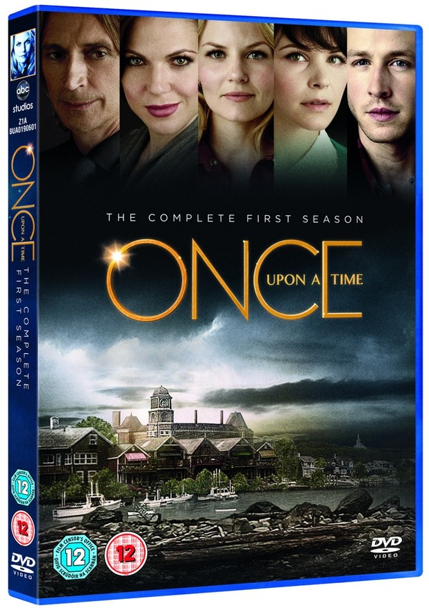 Once Upon A Time DVD Packshot