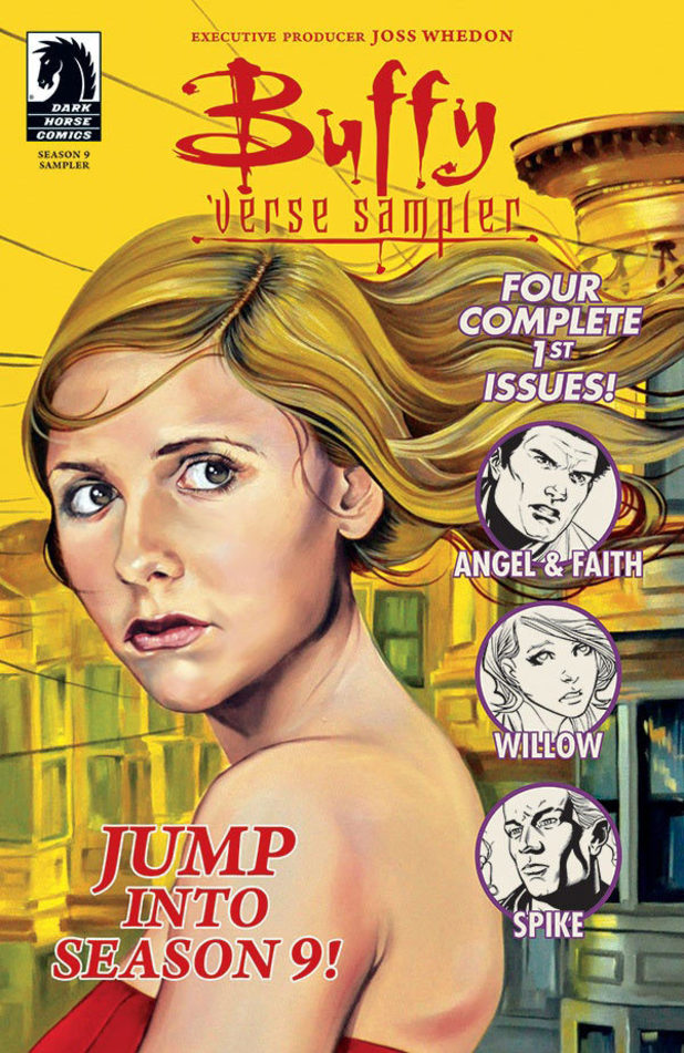 Buffyverse Sampler comic cover