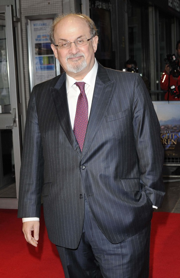 'Midnight's Children' premiere at the BFI London Film Festival: Salman Rushdie