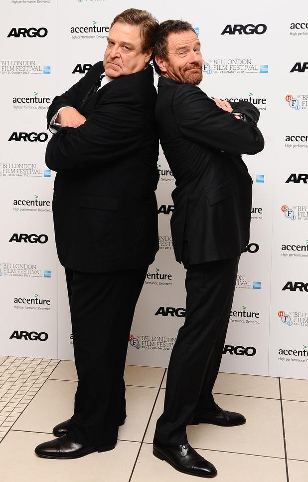 John Goodman and Bryan Cranston