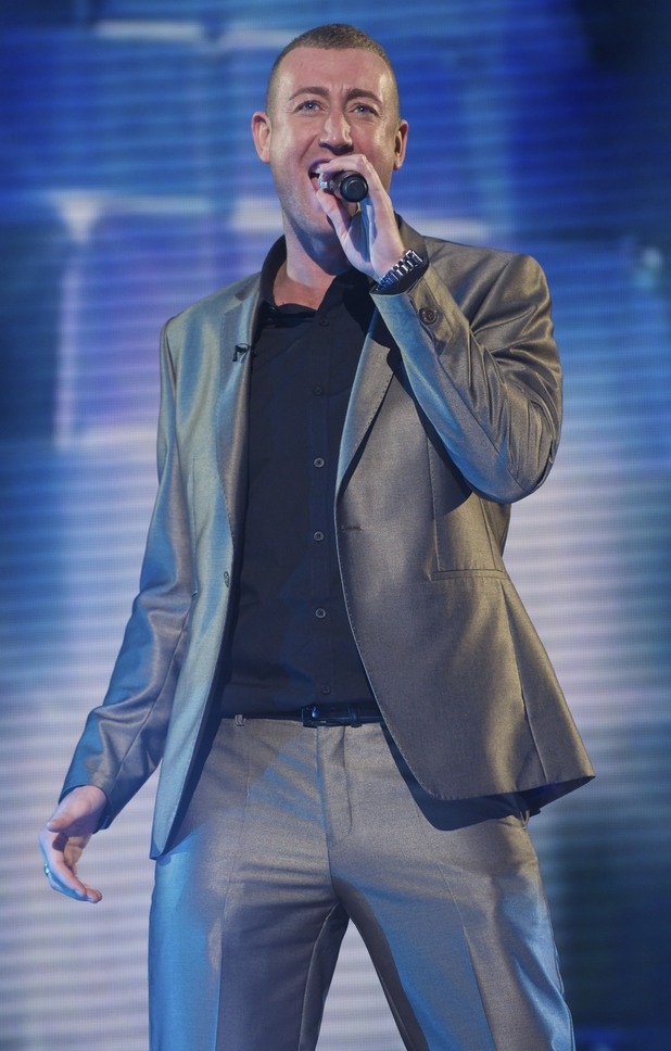 The X Factor Week 3: Christopher Maloney