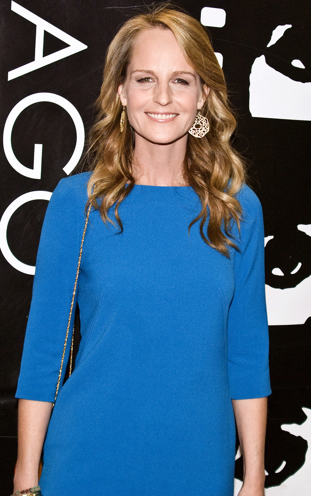 Helen Hunt arrives at The 48th Chicago International Film Festival in Chicago.