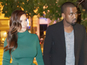 Reality star wears unflattering outfit in Rome with Kanye West.