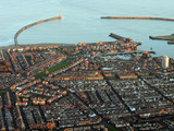 The city of Sunderland and the mouth of the River wear.