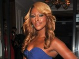 Alexandra Burke attends the Shooting Stars Gala Dinner held at the Corinthia Hotel.