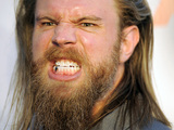 "Ryan Hurst, a cast member in ""Sons of Anarchy,"" poses for photographers at a screening of the fourth season premiere of the television series, Tuesday, Aug. 30, 2011, in Los Angeles"