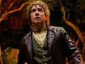 Martin Freeman talks of trouble with Bilbo Baggins's make-up during filming.