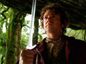 Bilbo's sword Sting is the same one he later passes to Frodo in Rings.