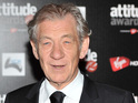 Ian McKellen also says he is impressed by The Hobbit's 3D imagery.