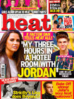 Heat Magazine cover, 24/10/2012
