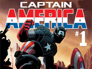 Captain America #1 comic cover