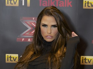 Katie Price at The X Factor results show