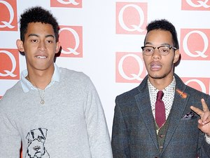The 2012 Q Awards arrivals: Rizzle Kicks