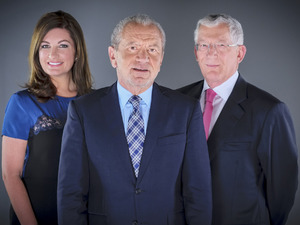 The Young Apprentice 2012: Karren Brady, Lord Alan Sugar and Nick Hewer