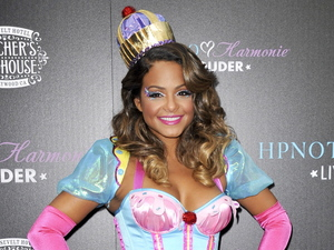 Christina Milian launches her custom Halloween cocktail recipe at Beacher's Madhouse, LA.