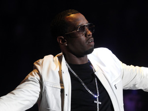 Sean &quot;Diddy&quot; Combs makes a guest appearance during a Romeo Santos concert at Madison Square Garden, Friday, Feb. 24, 2012 in New York. 
