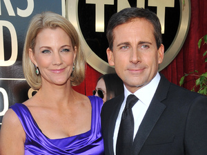 Steve Carell and wife Nancy at the 2012 Screen Actors Guild (SAG) awards