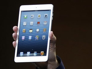 Phil Schiller, Apple's senior vice president of worldwide product marketing, introduces the iPad Mini