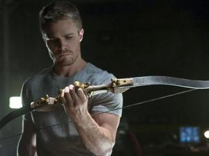 "'Arrow' (Season 1, Episode 3) - ""Lone Gunman"" Stephen Amell as Oliver Queen"