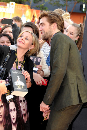 Robert Pattinson promotes 'The Twilight Saga: Breaking Dawn - Part 2' in Australia Sydney, Australia