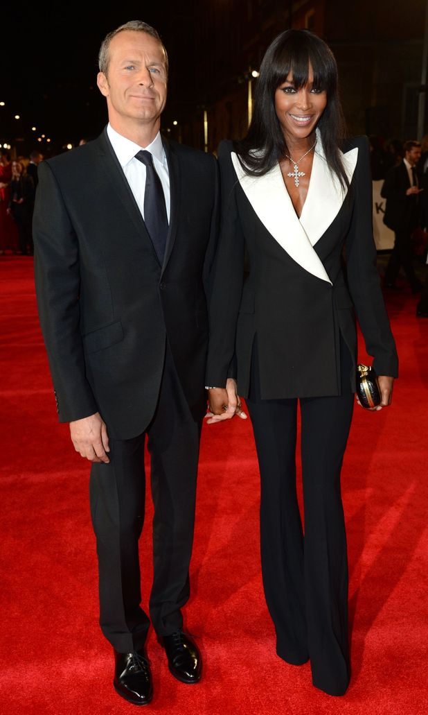 James Bond Skyfall World Premiere: Vladislav Doronin and Naomi Campbell