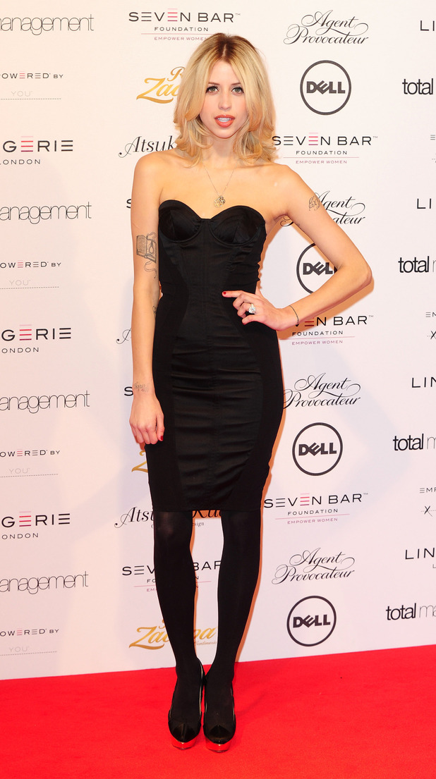 Peaches Geldof, Lingerie London fashion show