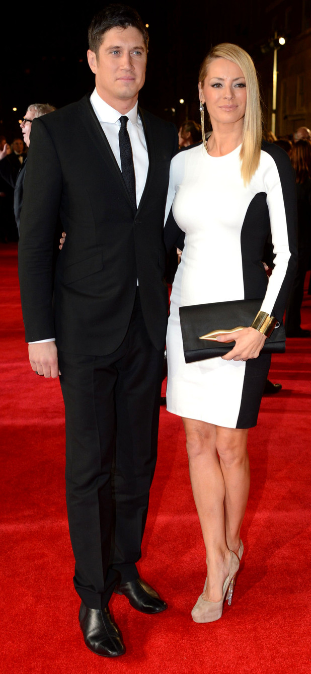 James Bond Skyfall World Premiere: Vernon Kay and Tess Daly