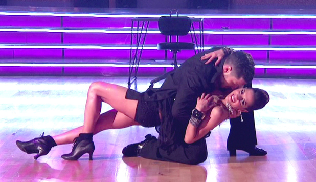 Kelly Monaco and Val Chmerkovskiy - ABC&#39;s &#39;Dancing with the Stars: All-Stars&#39; Season 15, Episode 9