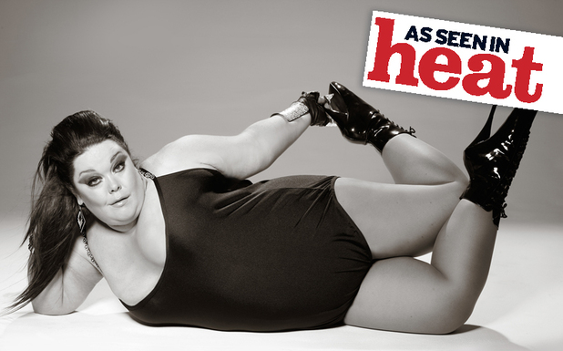 Lisa Riley in a Heat Magazine photoshoot