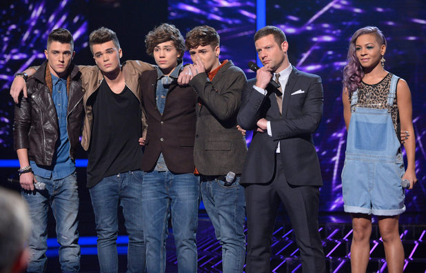 The X Factor Results Show: Jade Ellis and Union J.
