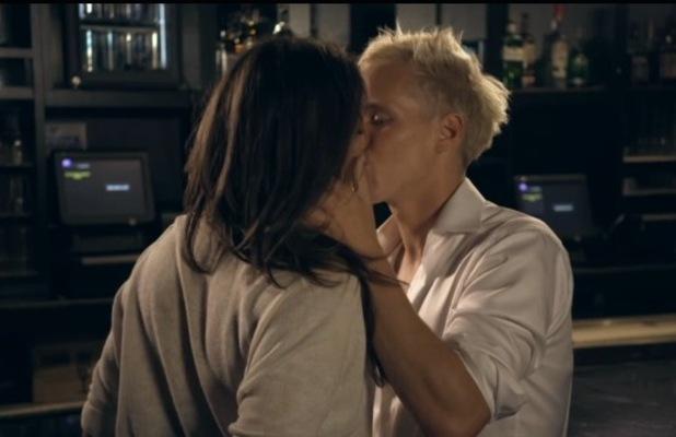 Jamie Laing kisses Binky Felstead