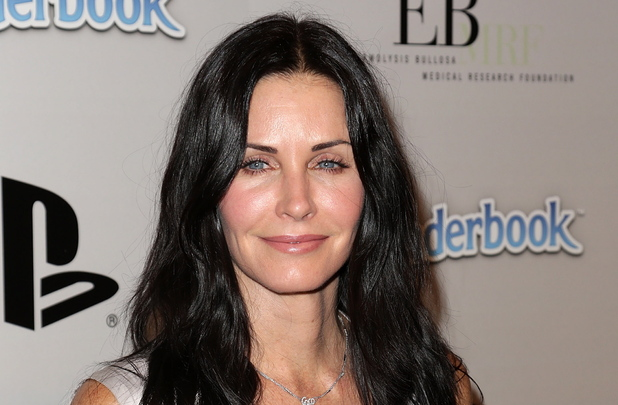 Courteney Cox attends the PlayStation Epic Halloween Bash.