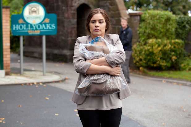 Mitzeee arrives back in the village