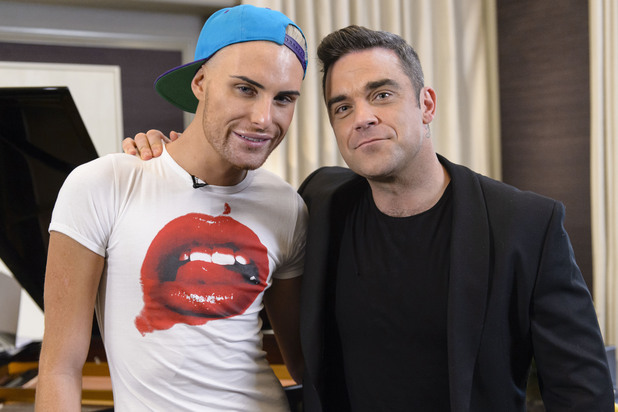 Rylan Clark, Robbie Williams, X Factor