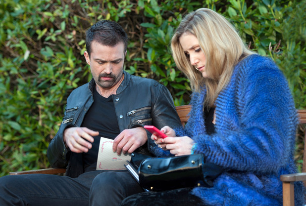 Brendan is devastated to see invite to Ste & Doug's wedding in Cheryl's bag.