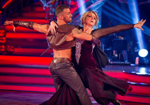 Strictly Come Dancing: Fern and Artem.