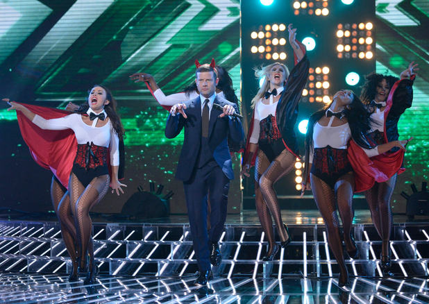 The X Factor 2012 Live Show 4