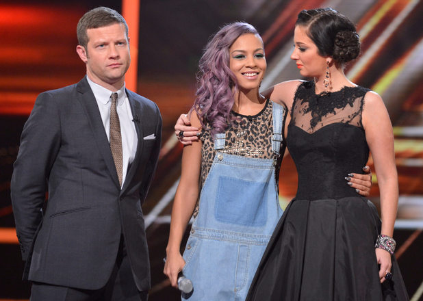 The X Factor Results Show: Jade Ellis leaves.