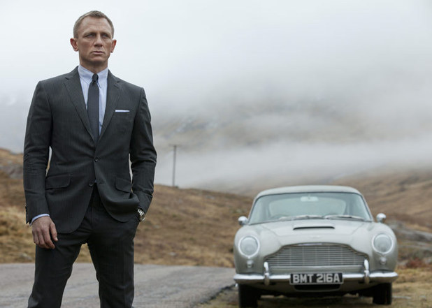 James Bond - Skyfall film still