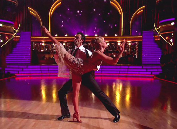 Gilles Marini and Peta Murgatroyd - ABC's 'Dancing with the Stars: All-Stars' Season 15, Episode 9