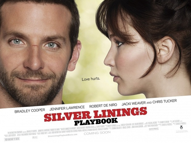 'Silver Linings Playbook' UK poster