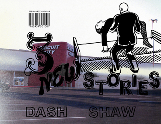 Dash Shaw title '3 New Stories'