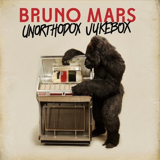 Bruno Mars &#39;Unorthodox Jukebox&#39; album artwork.