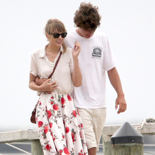 **Exclusive** Taylor Swift and Conor Kennedy enjoy a sailboat ride during their  romantic weekend together at the Kennedy family compound Hyannisport, Massachusetts - 28.07.12 Credit: WENN.com