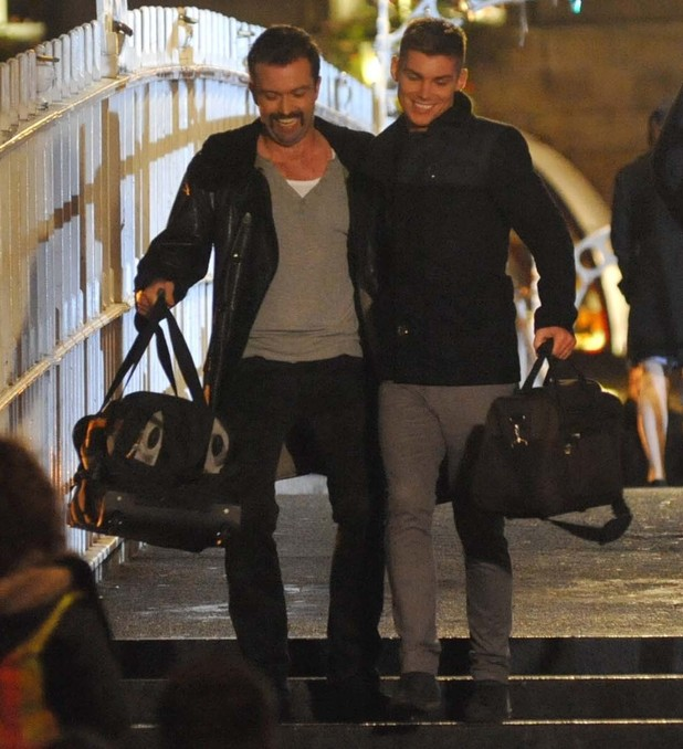 Hollyoaks filming in Dublin where Ste and Brendan are reunited