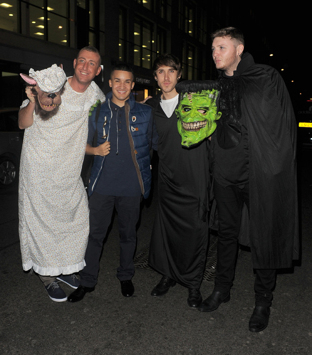 Chris Maloney, Jahmene Douglas, Kye Sones and James Arthur